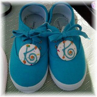 Blue Sneaker Cover