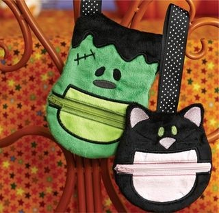 CME Halloween Zipper Bags