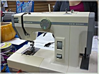 New Home Half Sewing