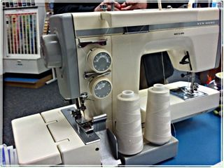 New Home Half Serger