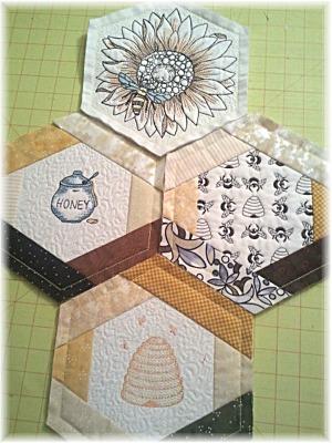 Honeycomb 4 Blocks