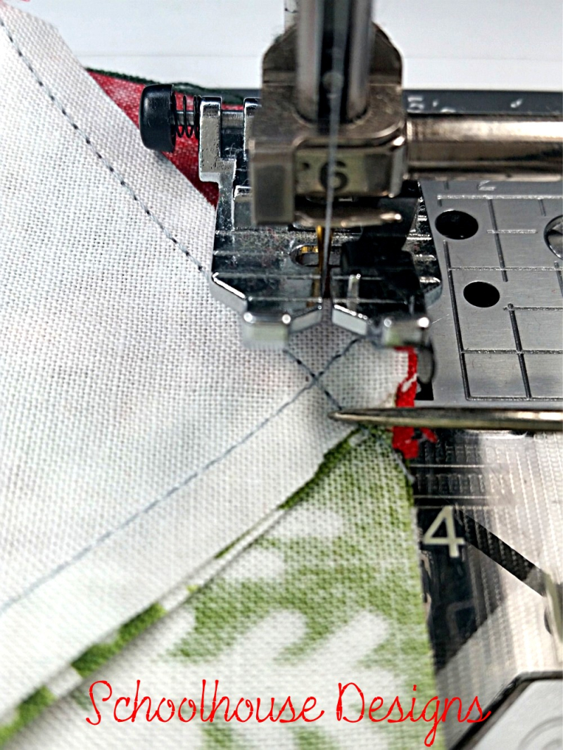 Sewing Quarter Inch Line