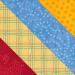 2017 August Bonus Diagonal Stripes Block