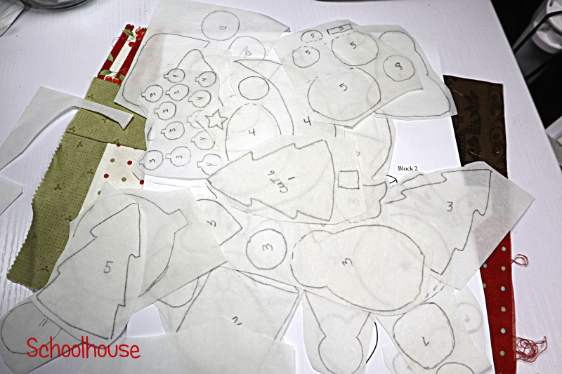 Pieces all Traced
