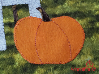 Pumpkin Stitching