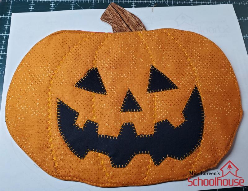 Pumpkin Snack Mat